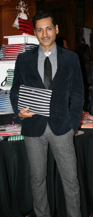 Cas Anvar holding his Carryall Pouch