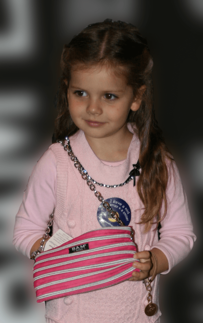 Gleb Savchenko's Daughter with the Isabel Bag