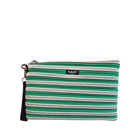 Carryall Wristlet in Emerald Green