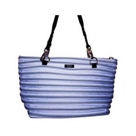 Flat Bottom Tote in Powder Blue
