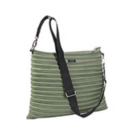 Backpack Messenger Bag in Moss Green Full