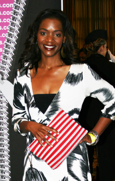 Kelsey Scott with her Carryall Wristlet