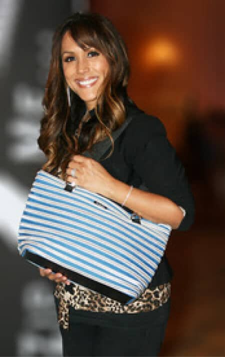 Mirtha Jenning with her Flat Bottom Tote